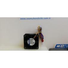 614N/2GNI 6025 24 V 2.5W 6 cm eksenel soğutma fanı
